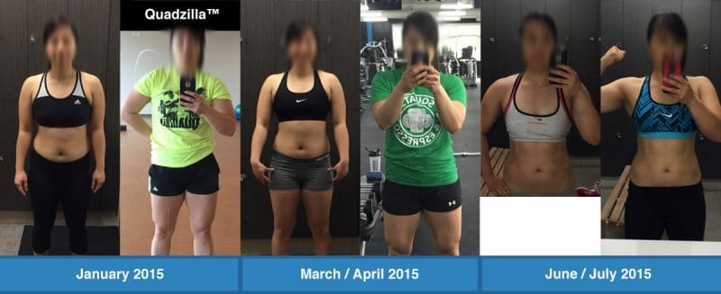 fat loss case study Stephanie