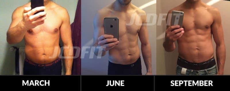 fat loss case study