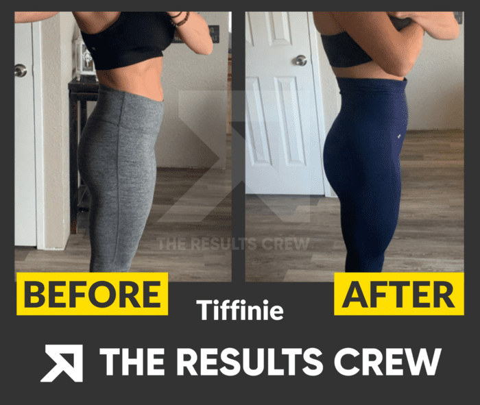 glute growth results